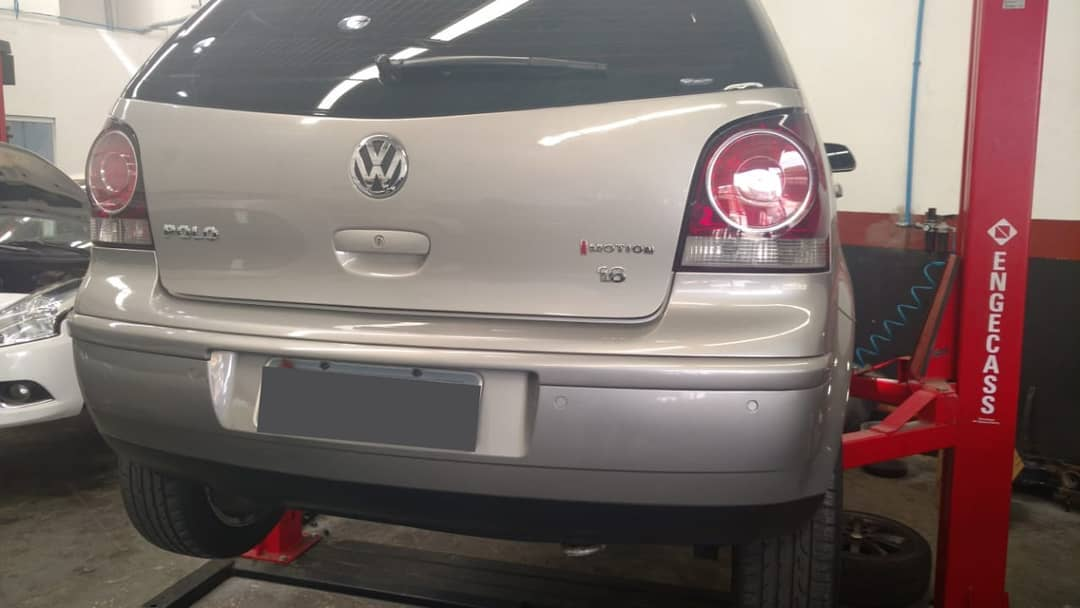Reparo no sistema automatizado Imotion VW Polo
